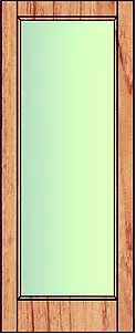 Single pane glass. Suitable for external use