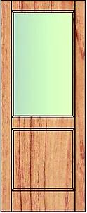 Veneer bottom panel top glass. Suitable for interior use