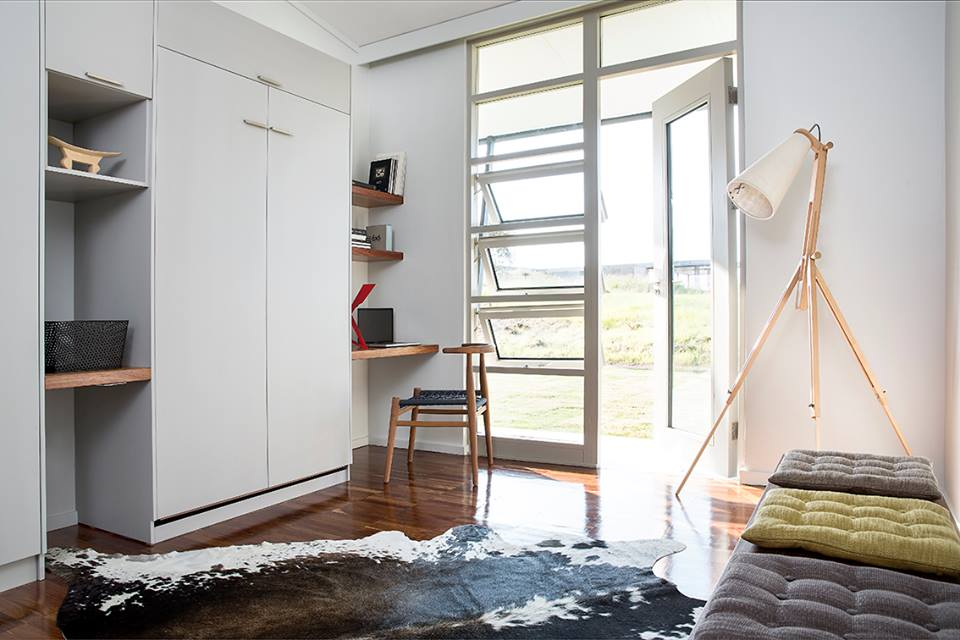 Our top hug windows can be designed into any configuration. Friction stays make sure the windows always stay open.