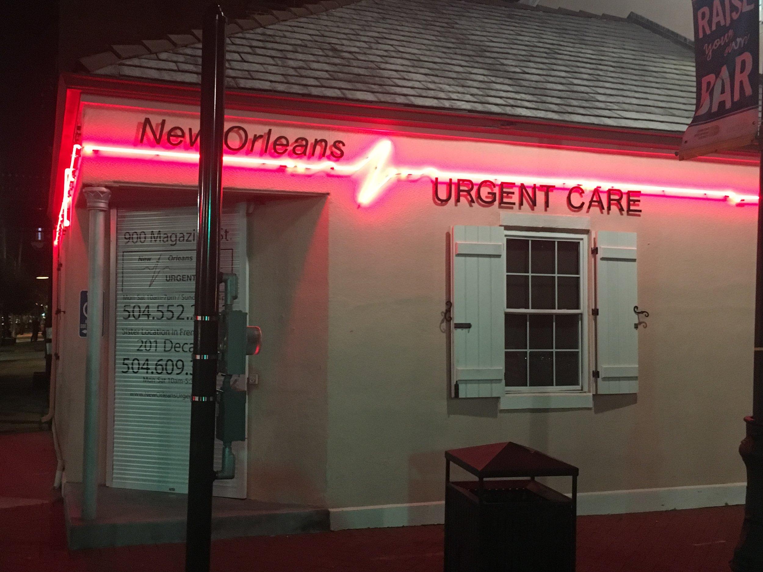 Good Neon: No one needed urgent care.