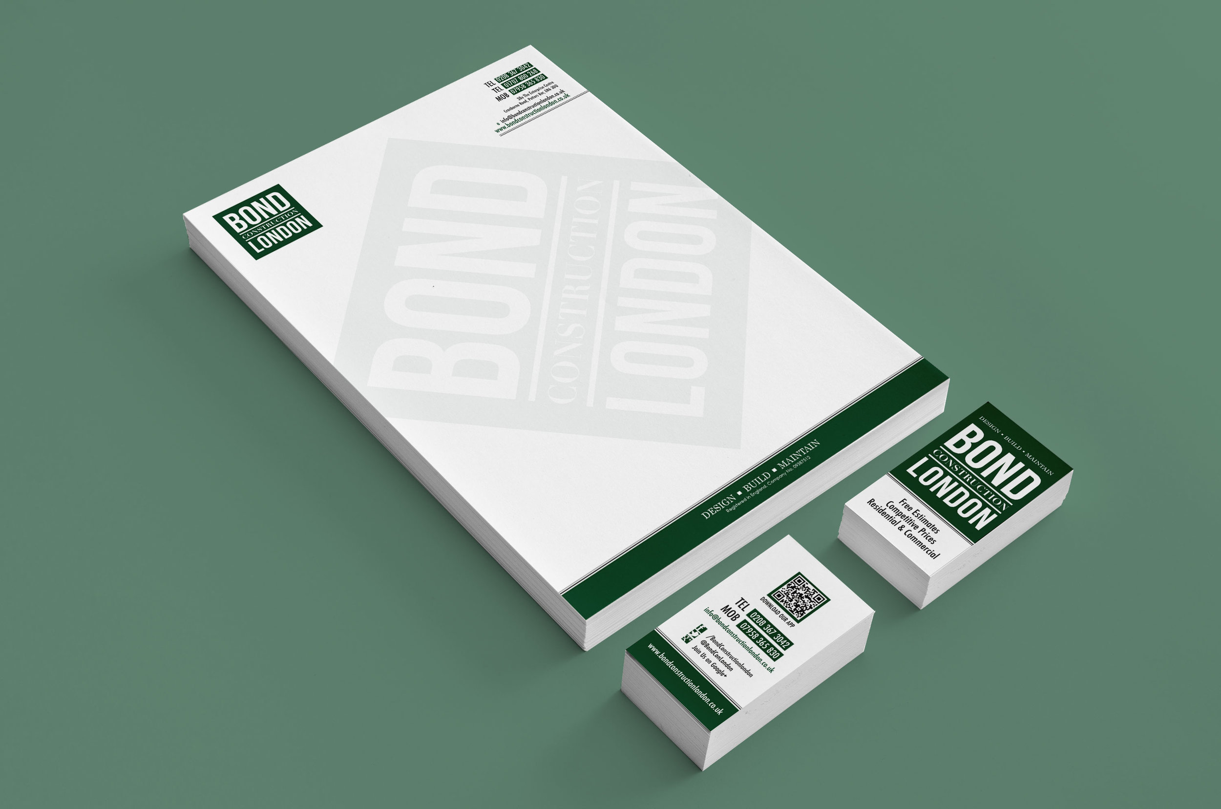BRAND - LOGO & STATIONERY DESIGN