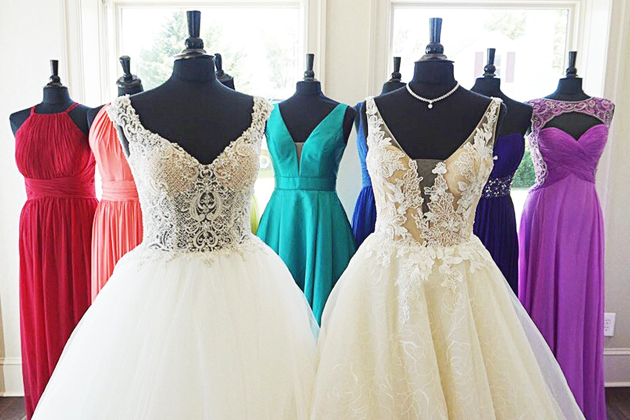 Wedding Gown Pride Month Lilla's Bridal