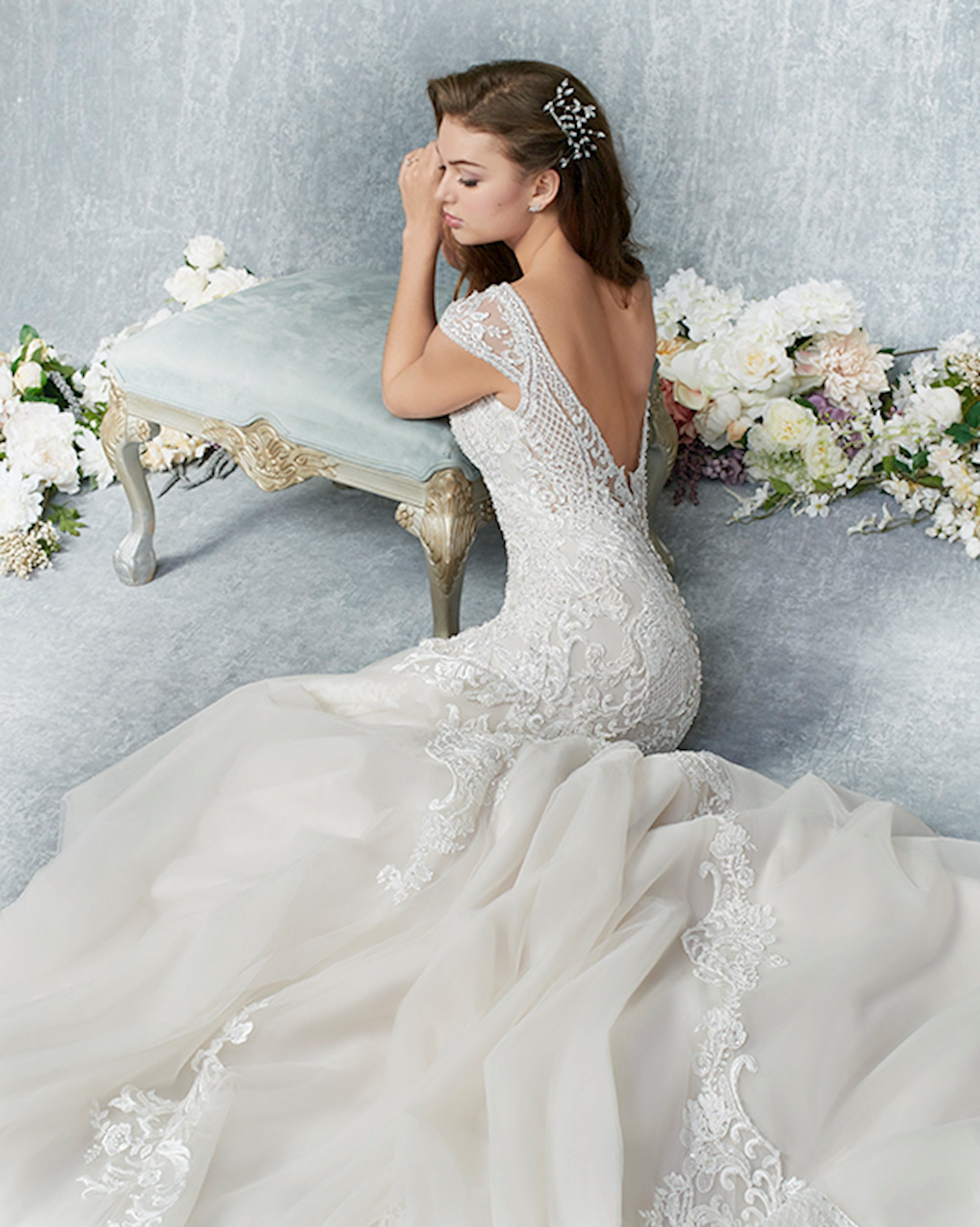Kenneth Winston at Lilla's Bridal Boutique in York, PA