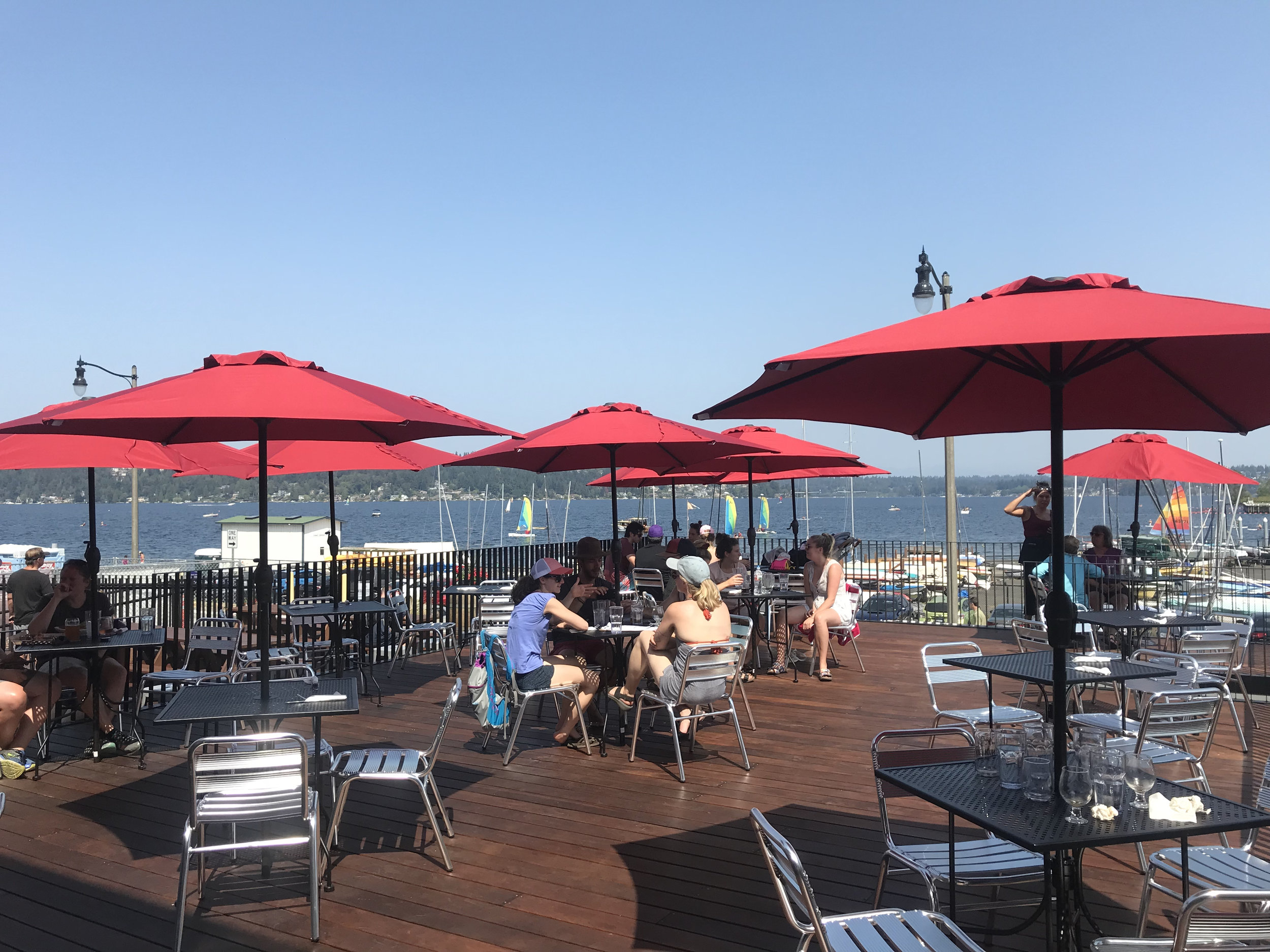 At long last, we are having our Grand Opening! Stop by for hand-crafted food, beer & local wine. Magnuson Cafe & Brewery features a 2,000 sq ft deck overlooking Lake Washington.