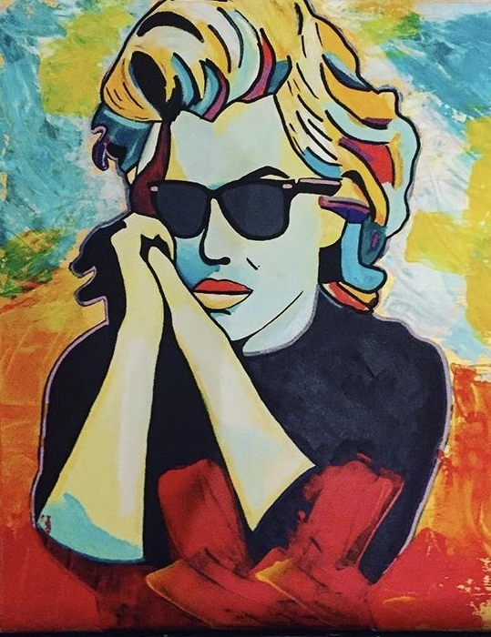 Cool Marilyn - American actress