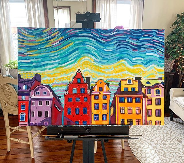 """""""Stortorget"""" 24x36 