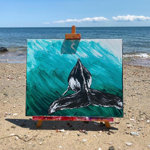 """""""Killer whale"""" 16x20 