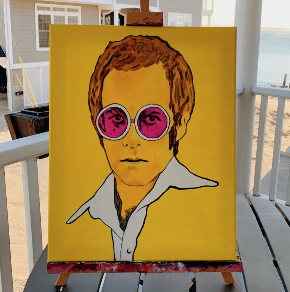 Rocket Man - Young Elton John