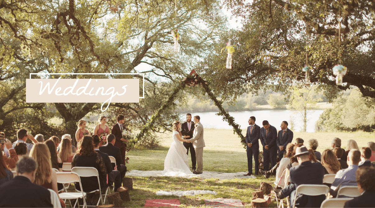 old oaks ranch wedding page outdoor ceremony texas