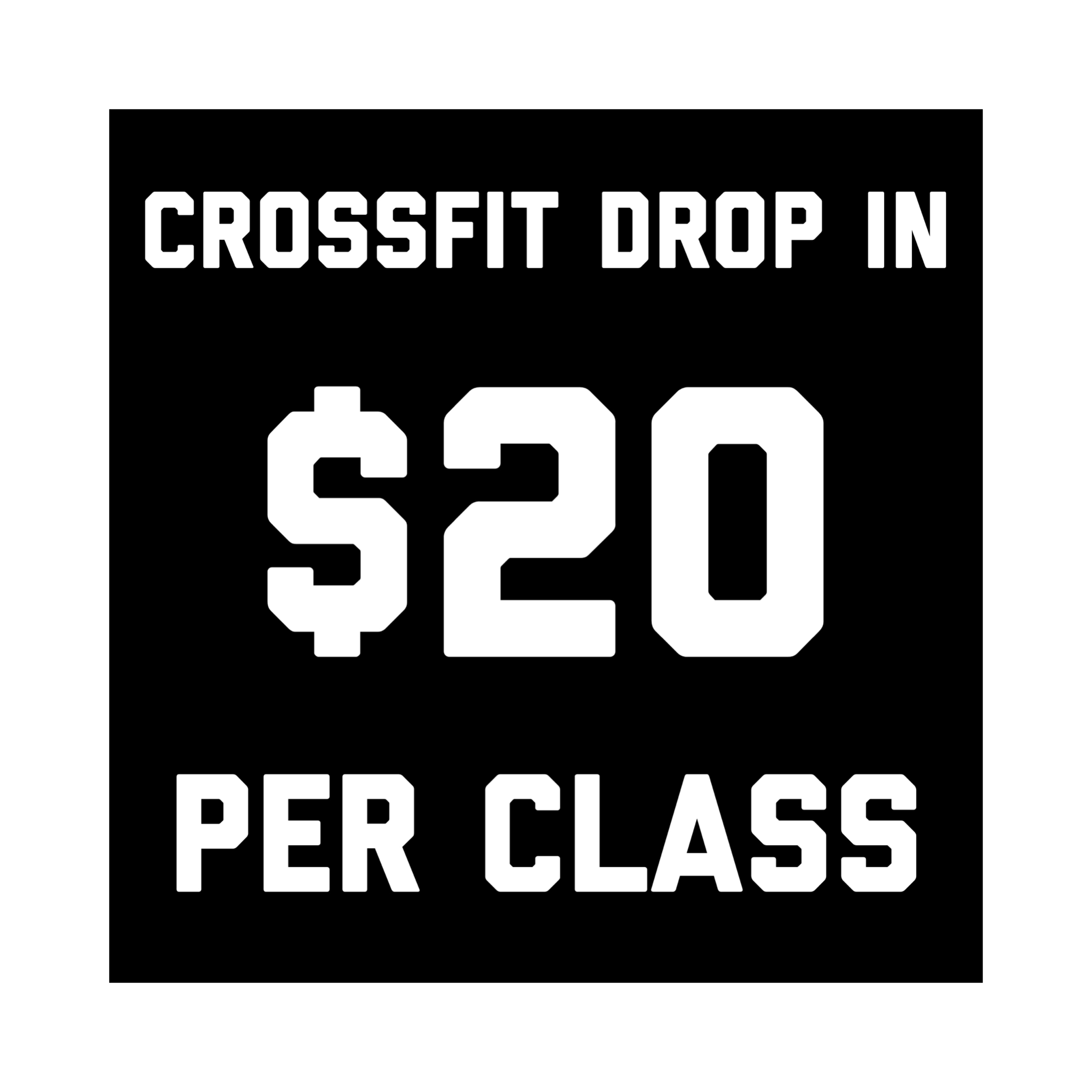 CrossFit Collective CrossFit Drop-In Price