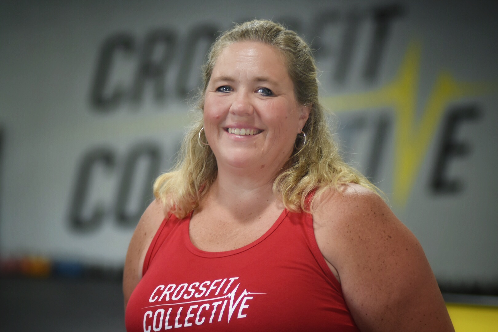 Dawn Davidson - Coach - Born and raised in Lancaster County, Dawn is a J.P. McCaskey High School graduate. She went on to become a Registered Nurse and currently works with older adults to assist with lifestyle management in their home.She started CrossFit at the age of 48; well into the Master's Athlete Category but with a competitive spirit. She attributes the benefits of CrossFit to improving her physical and mental strength. Her excitement for wanting to help others appreciate the benefits of CrossFit was the driving force to become a coach.CrossFit Certifications:-CrossFit Level 1 Trainer-CrossFit Adaptive Athlete-CrossFit Aerobic Capacity