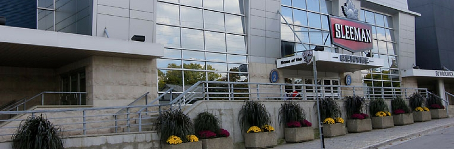 Sleeman Centre Downtown Guelph on Woolwich Street.jpg