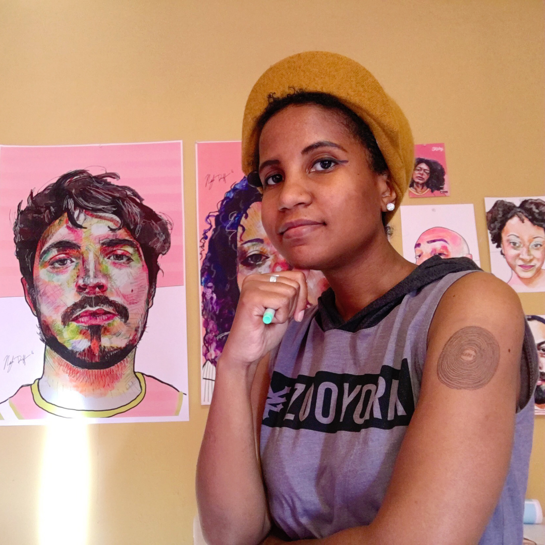 Subscribe to learn from extraordinary Sktchy artists (Pictured: Nadyia Duff )