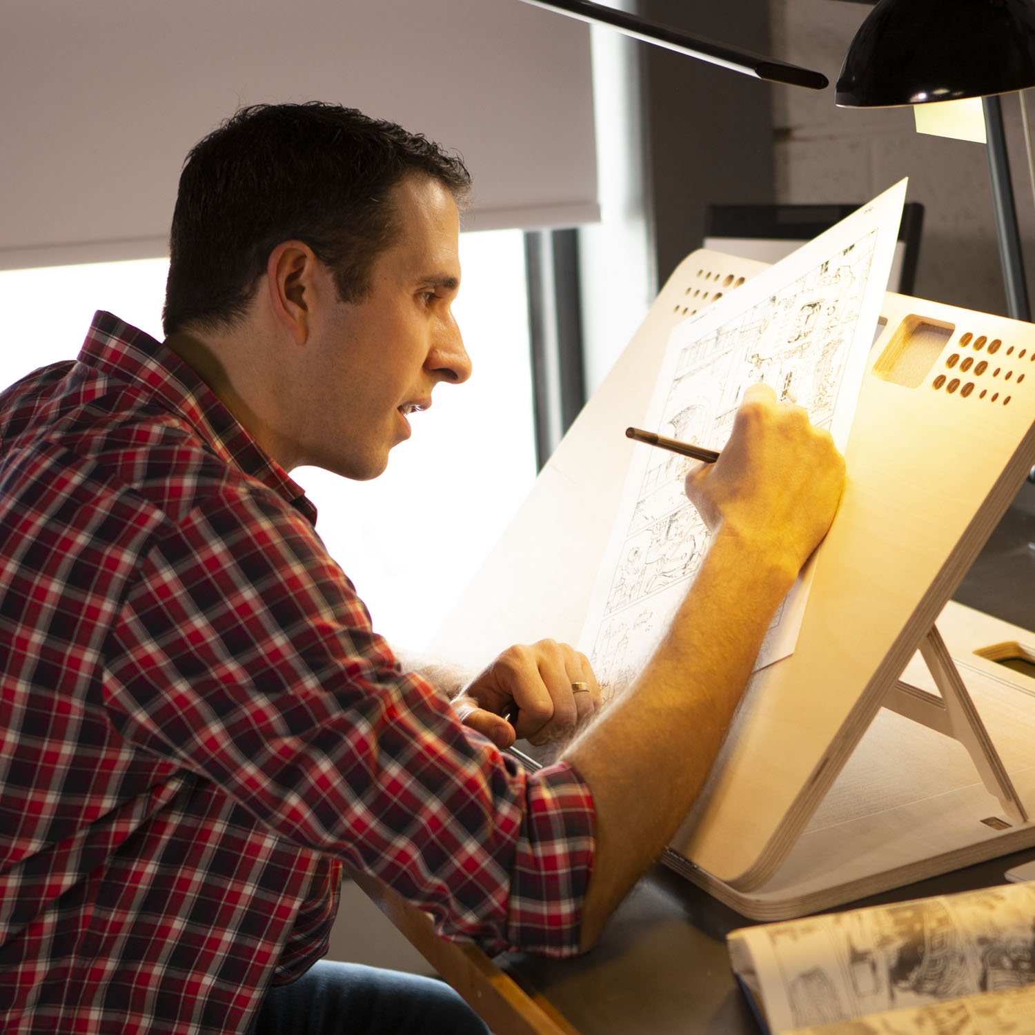 Inktober founder Jake Parker will teach Sktchy students how to ink in the  Inktober Art Class