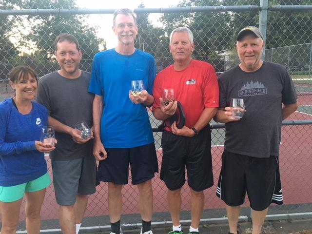 Round Robin 4.0 Winners: Jeff Houck, Monte Bousquet, Dan Bud, Lee Sorter, Kim Daley
