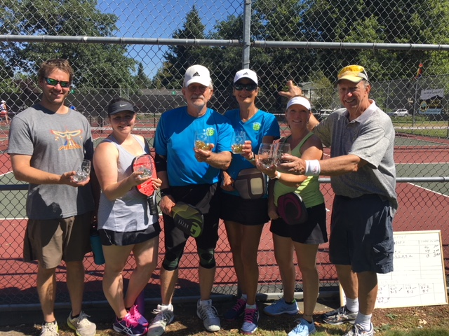 Mixed Doubles 3.5 Winners: Bill & Rae Dennehy, Mark Campbell & Stephanie Waples, Bruce Anderson & Demian Laudati