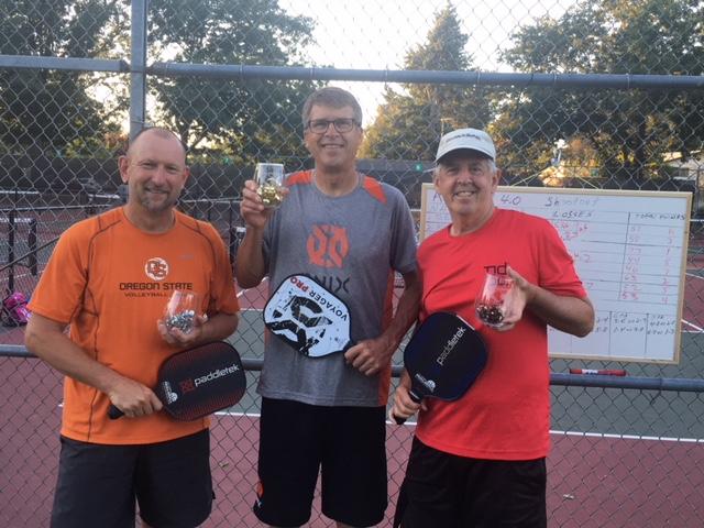 Round Robin 4.5+ Winners: Craig Palermo, Didier Hemelsoet, Roger Schaljo