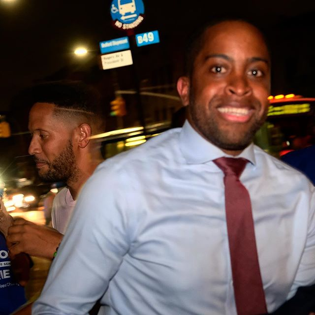 The next NY Senator from NY-20, @zellnor4ny! Truly gratifying to see the support for Z coalesce across the district as the primary approached. What a great team. . . #makenytrueblue #ig_politics #noidcny #newyork #brooklyn #nysenate #nysenatedems