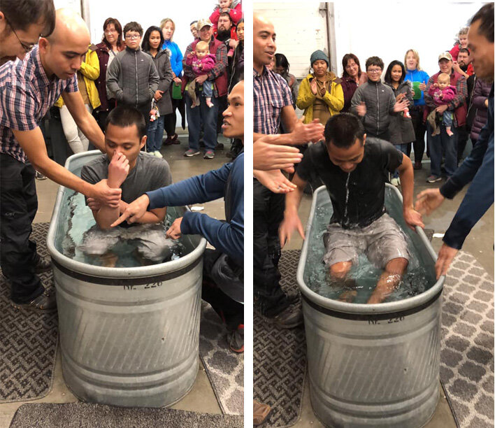 Chivron was baptized on October 20th!