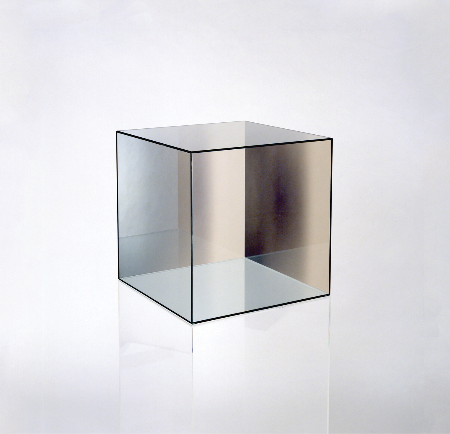 CUBE #32 by Larry Bell courtesy Larry Bell Inc