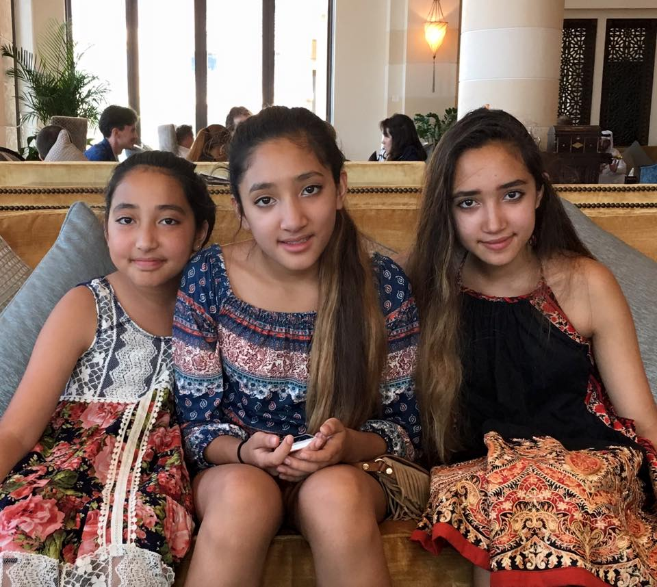 bernadette asraf and the girls.jpg