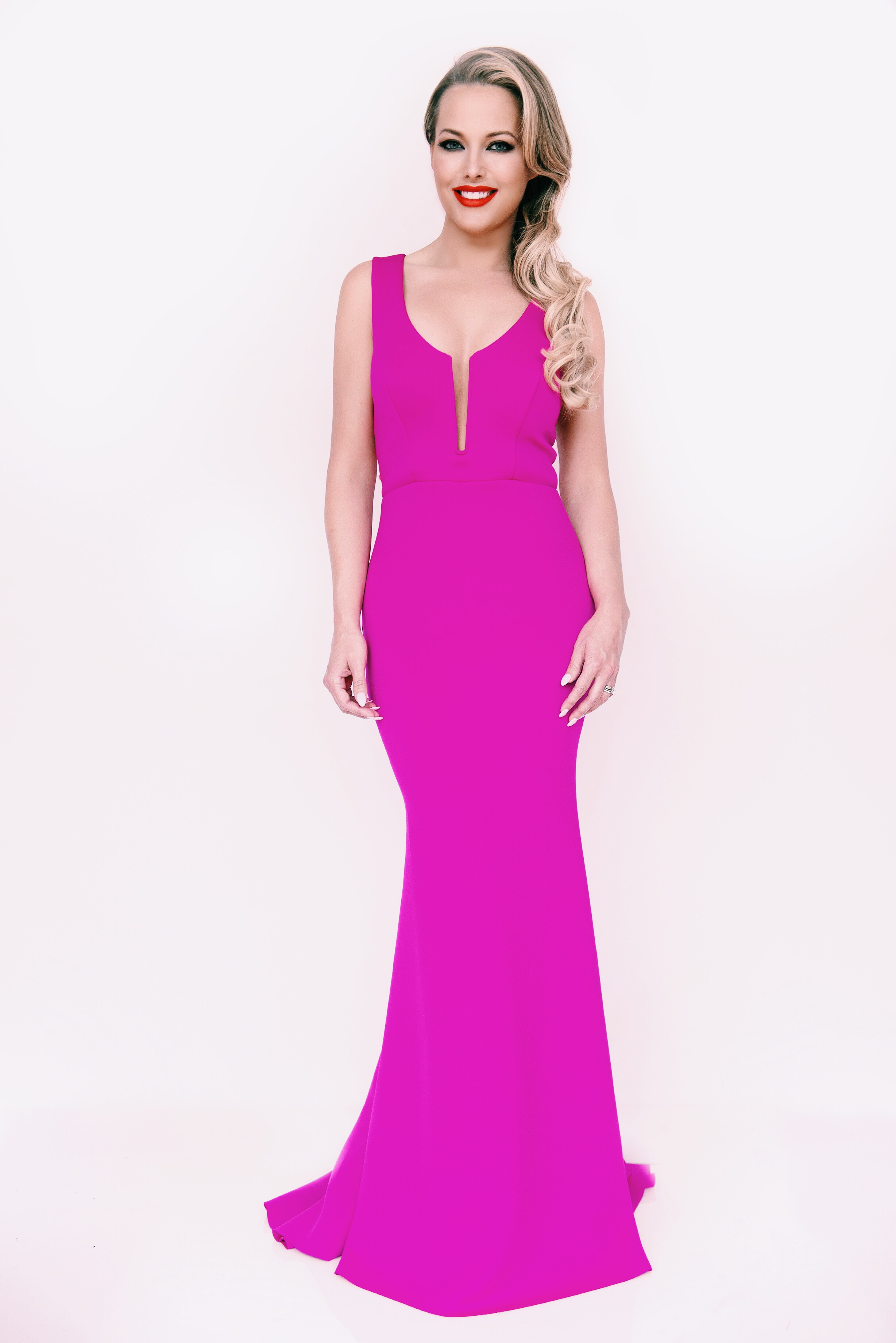 Lisa Mohager Pink Gown.JPG