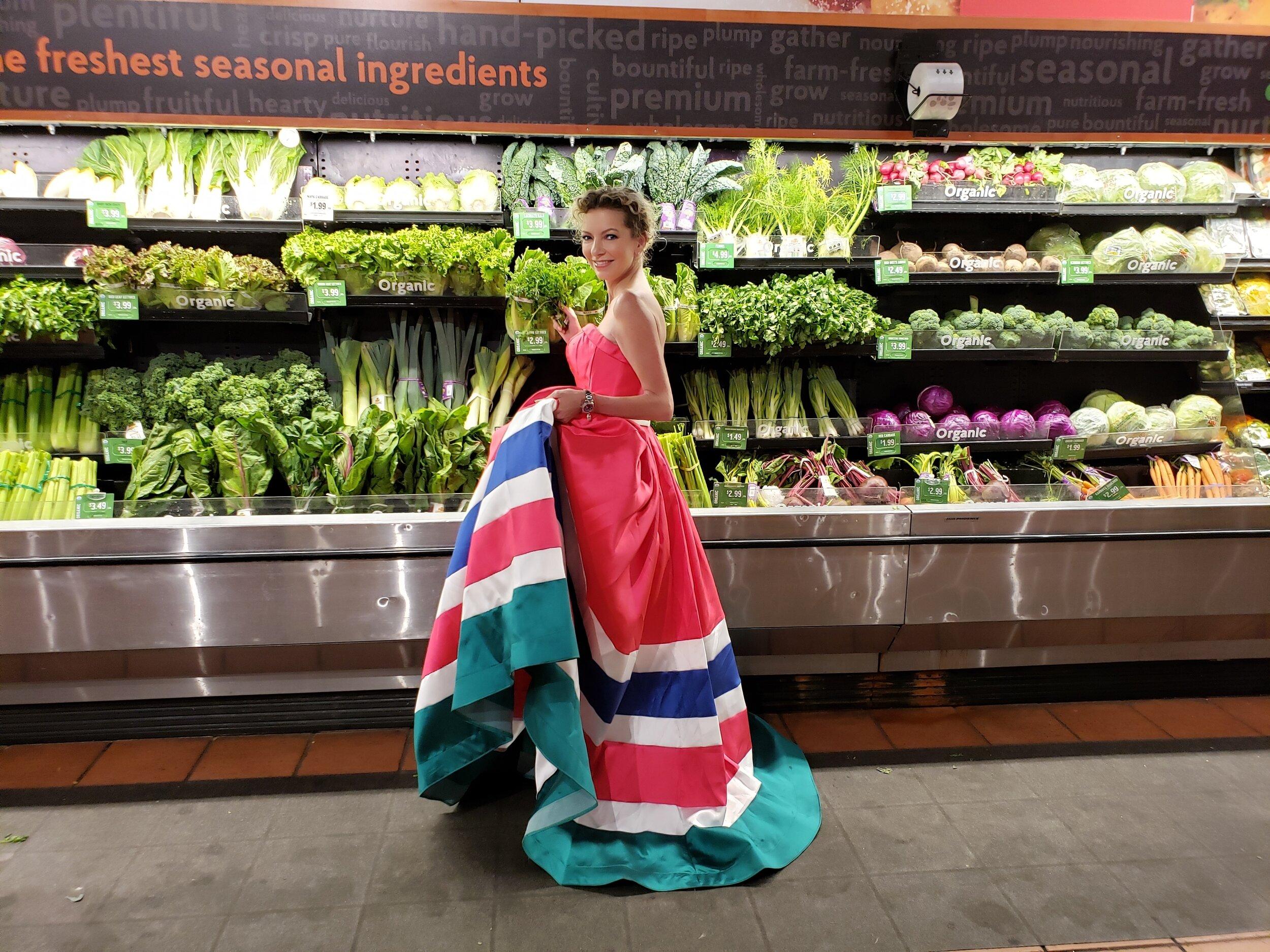 Christine Cornwell Grocery Shopping Ball Gown.jpg