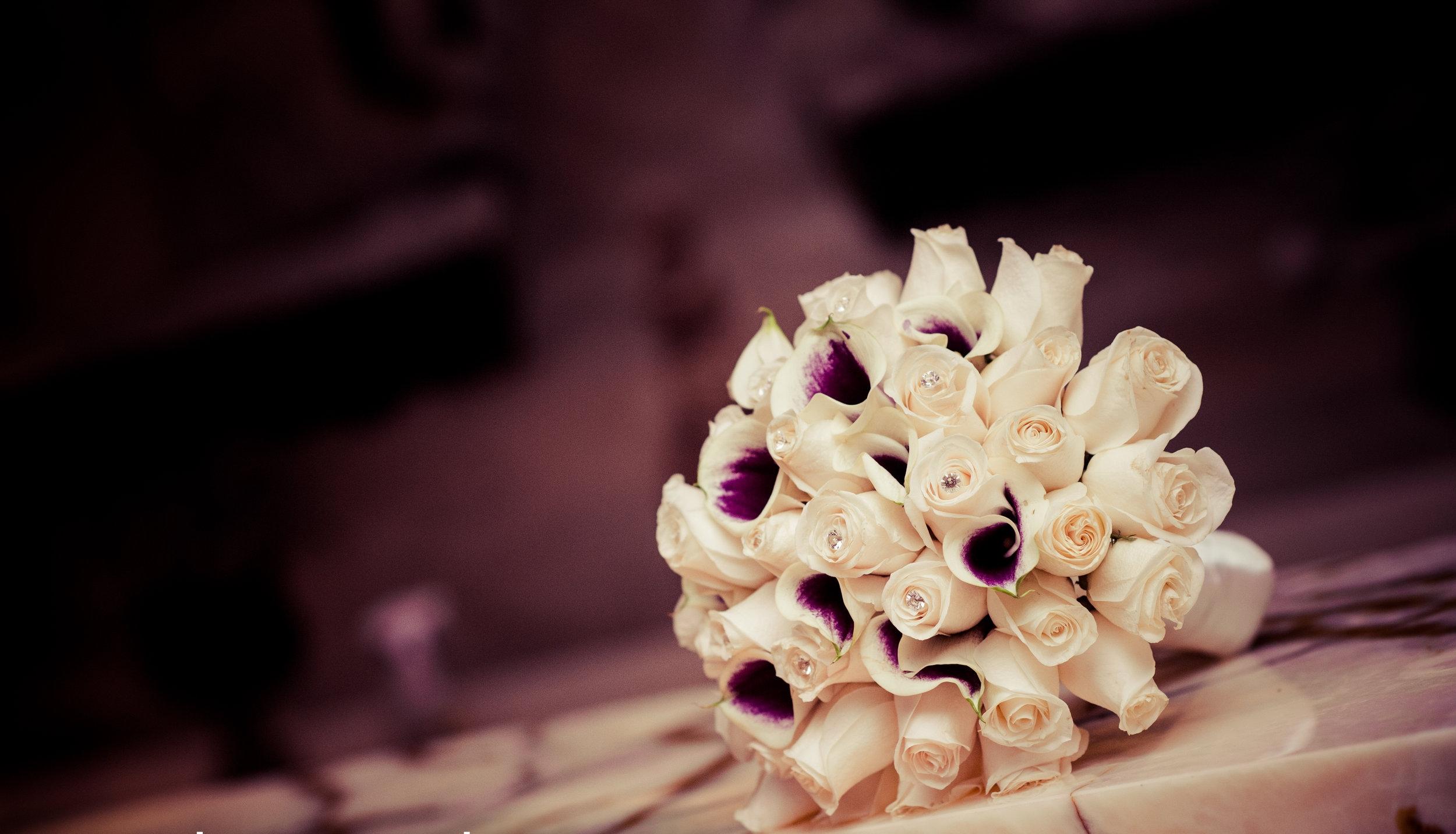 Leonard's Palazzo bridal bouquet