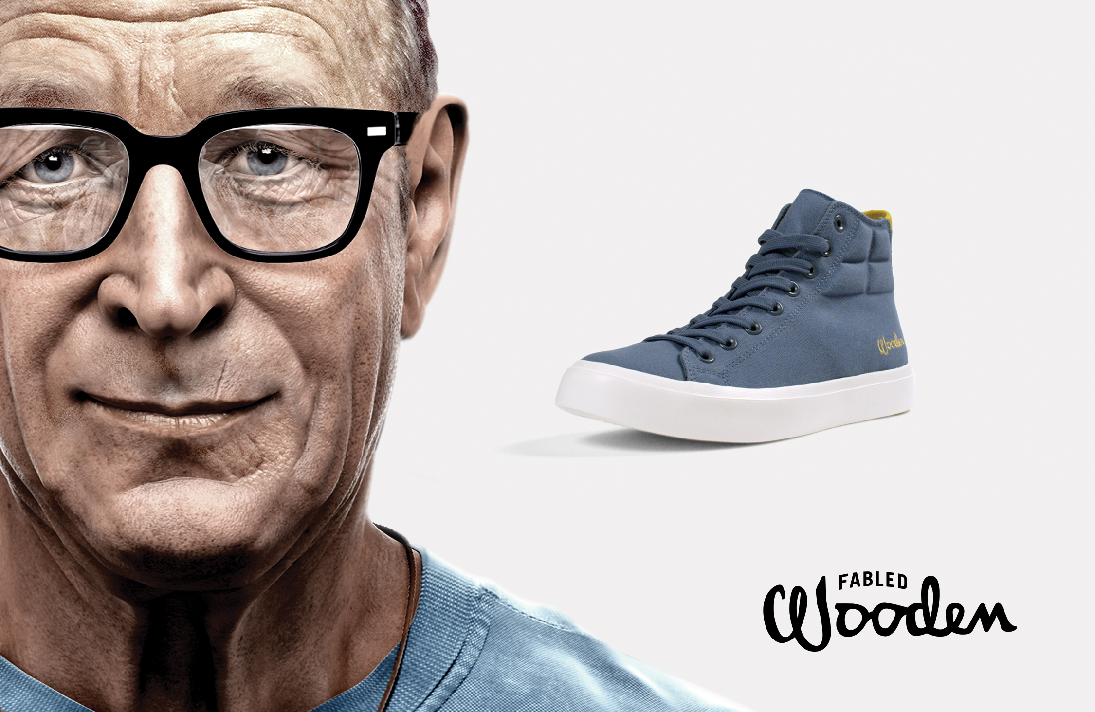 Fabled John Wooden shoe