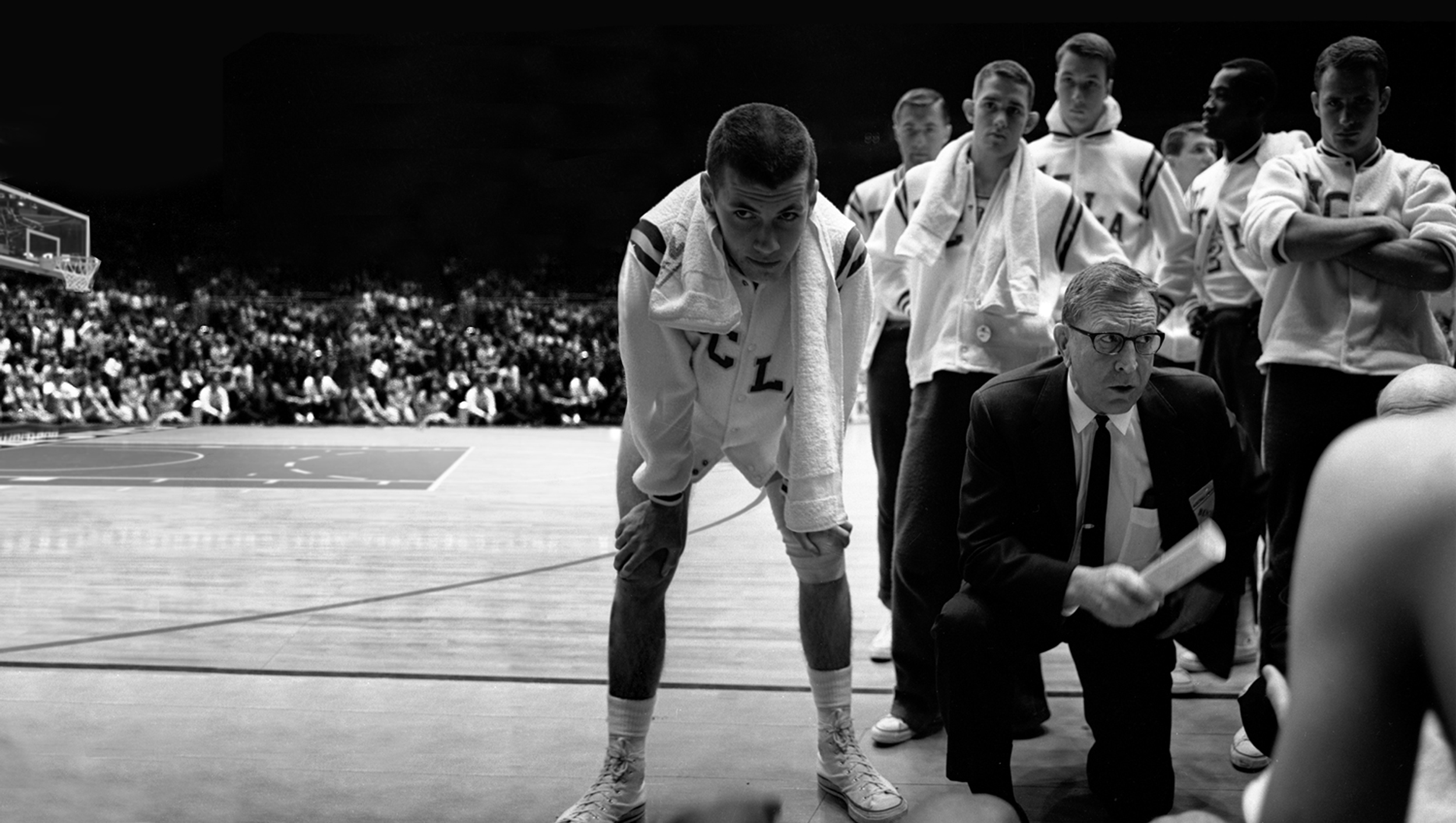 Fabled - John Wooden coaching UCLA basketball team
