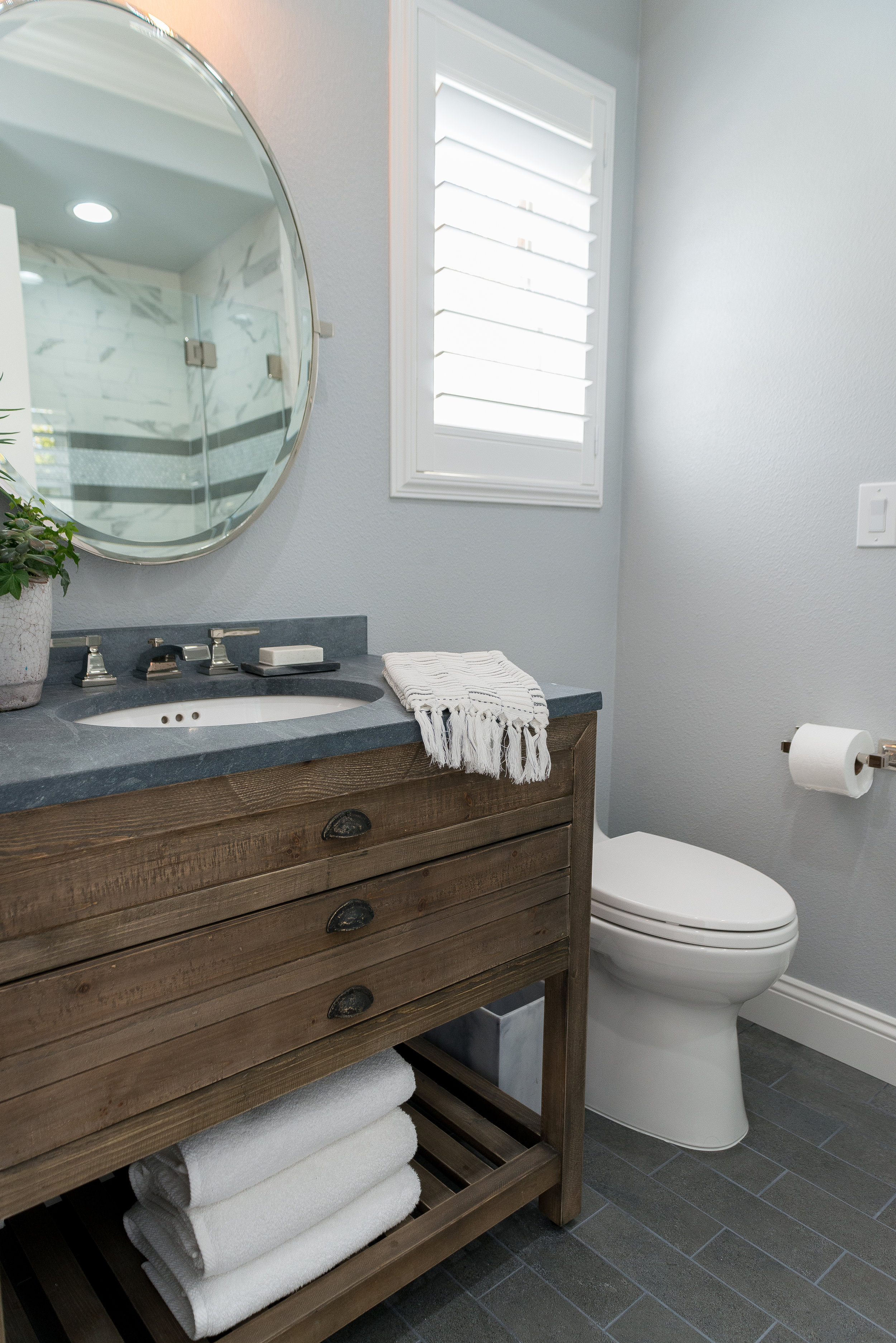 Twin Guest Bathroom Remodel Paradise Designs Of California