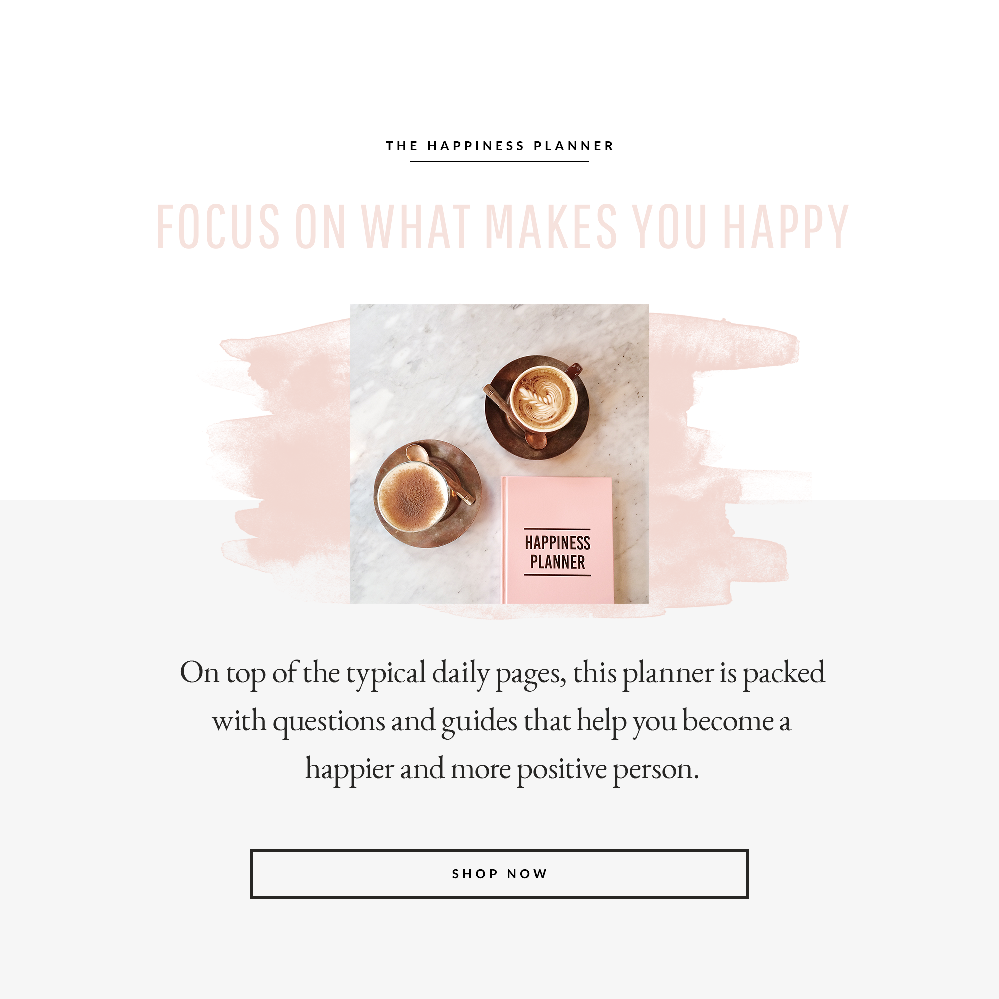 The Happiness Planner -