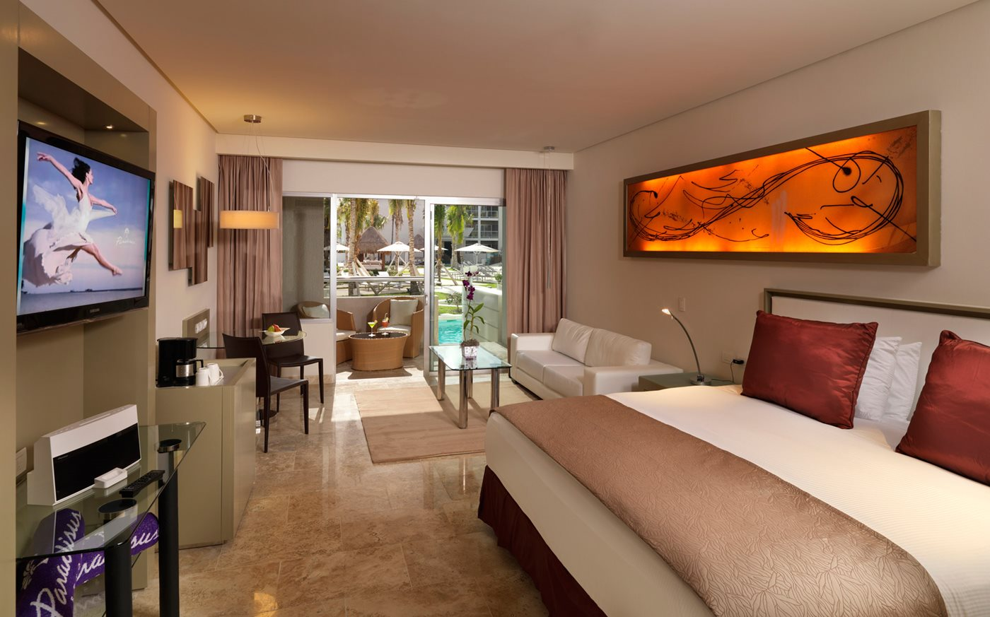 Paradisus Junior Suite  YYZ - CUN 7 NIGHT PACKAGE   DOUBLE OCCUPANCY :  $1599 CAD PER ADULT   CHILD AGES 2-12 : $799 CAD PER CHILD (WHEN SHARING A ROOM WITH TWO ADULTS)  Please Note: This quote is only valid until August 21st