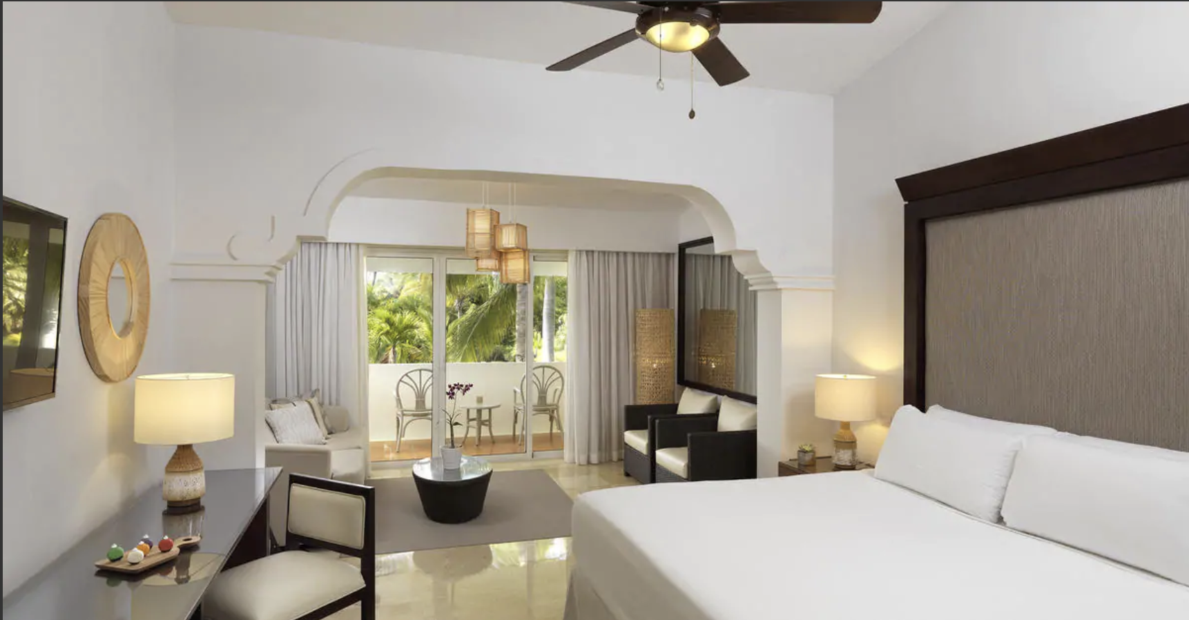 Junior Suite    TORONTO - PUNTA CANA 7 NIGHT PACKAGE    DOUBLE OCCUPANCY:   $1519    CAD PER PERSON   CHILDREN AGES 2-12:   $1199    CAD (WHEN SHARING ROOM WITH TWO ADULTS)    UK - PUNTA CANA   RATES TBD   BRAZIL - PUNTA CANA   RATES TBD   USA - PUNTA CANA   RATES TBD