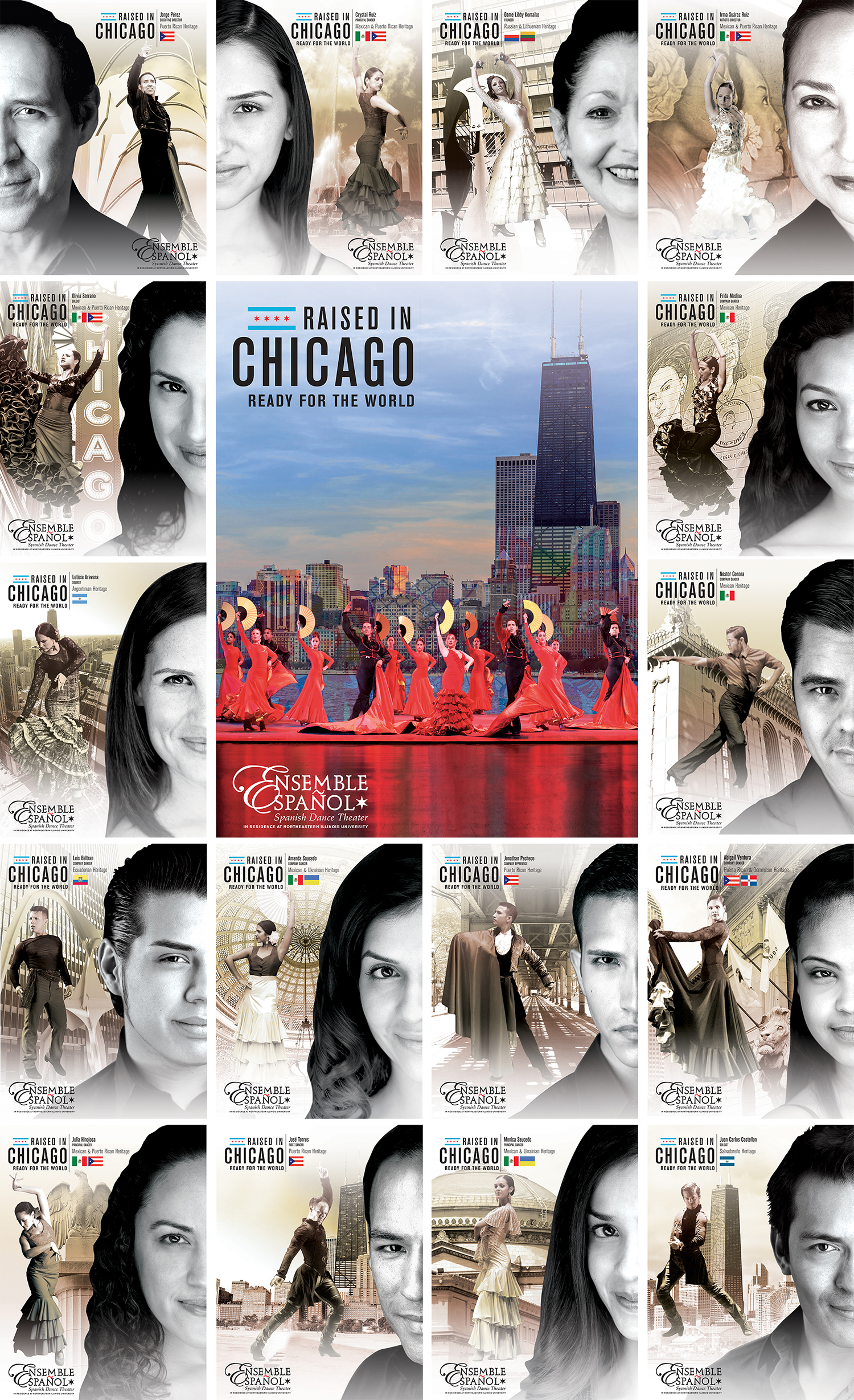 Ensemble Espanol Raised in Chicago Ready for the World Marketing Campaign