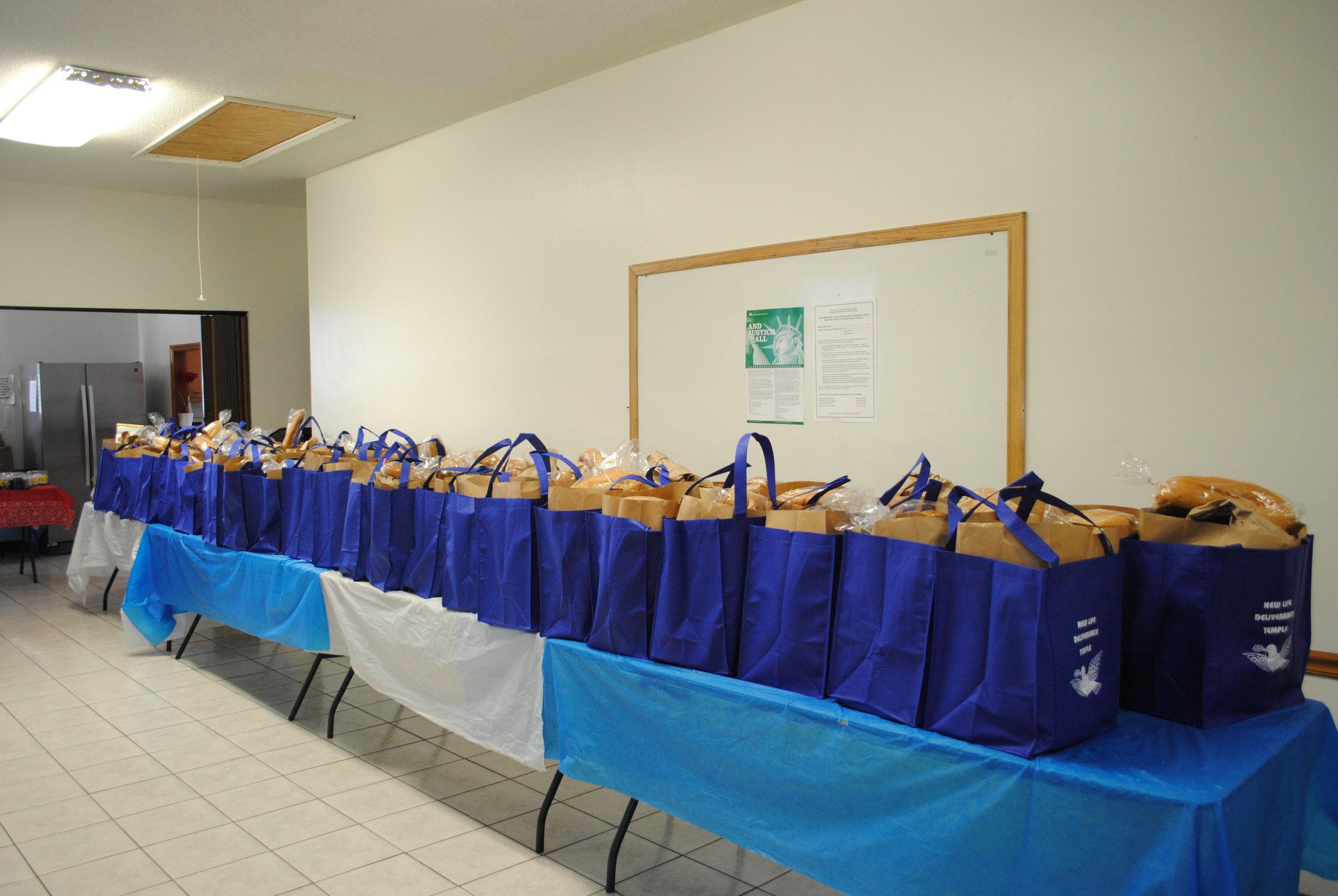 Food Bank Bags