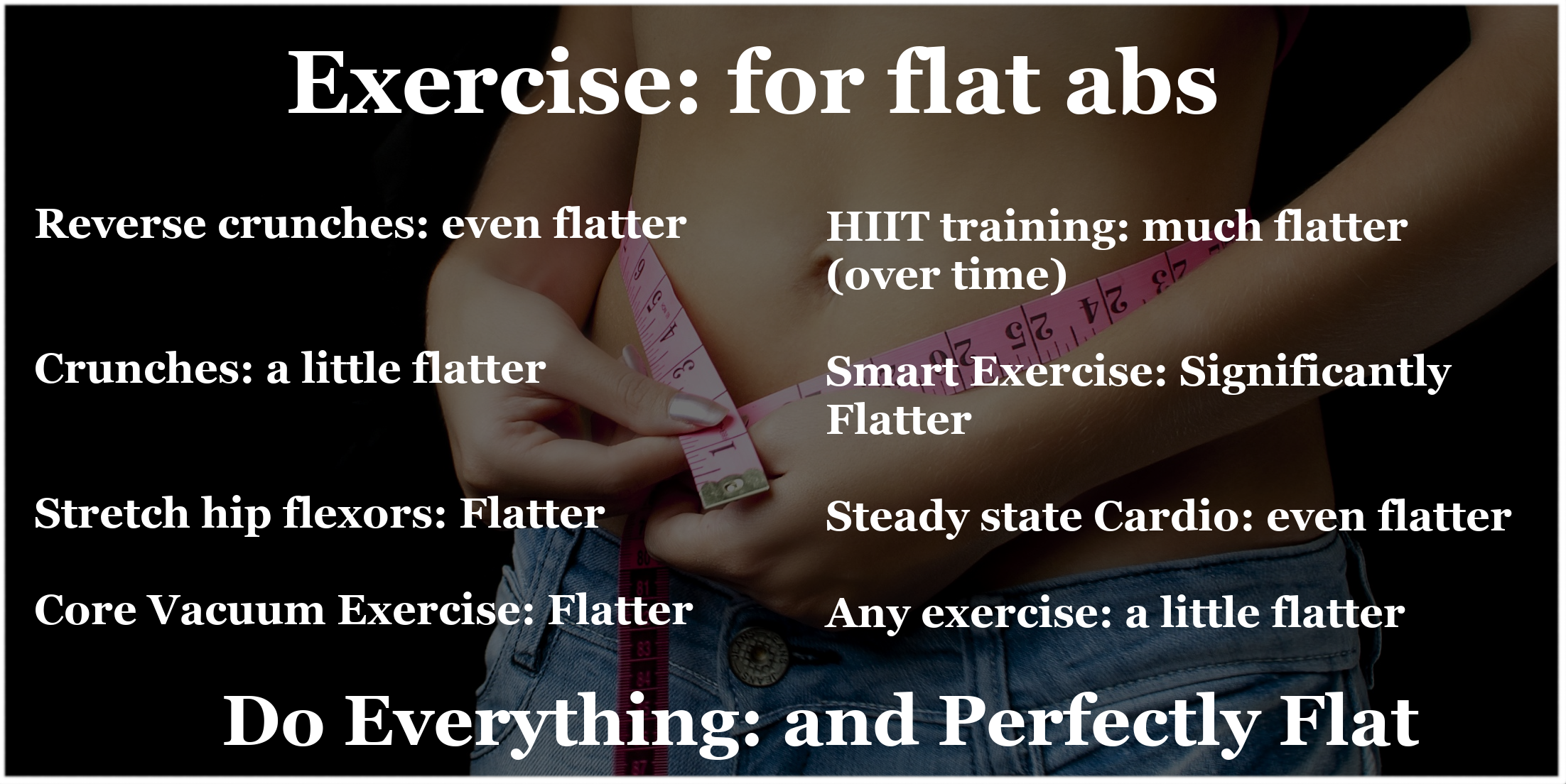 Exercise - For Flat Abs