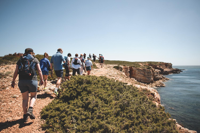 yoga retreat Algarve hiking