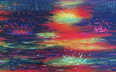 Detail: Heroine's Journey oil on canvas, 2015  ©Nancy Ward