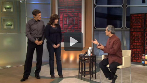 Dr. Mao Shing Ni discusses time-tested remedies for sleeplessness on The Dr. Oz Show.
