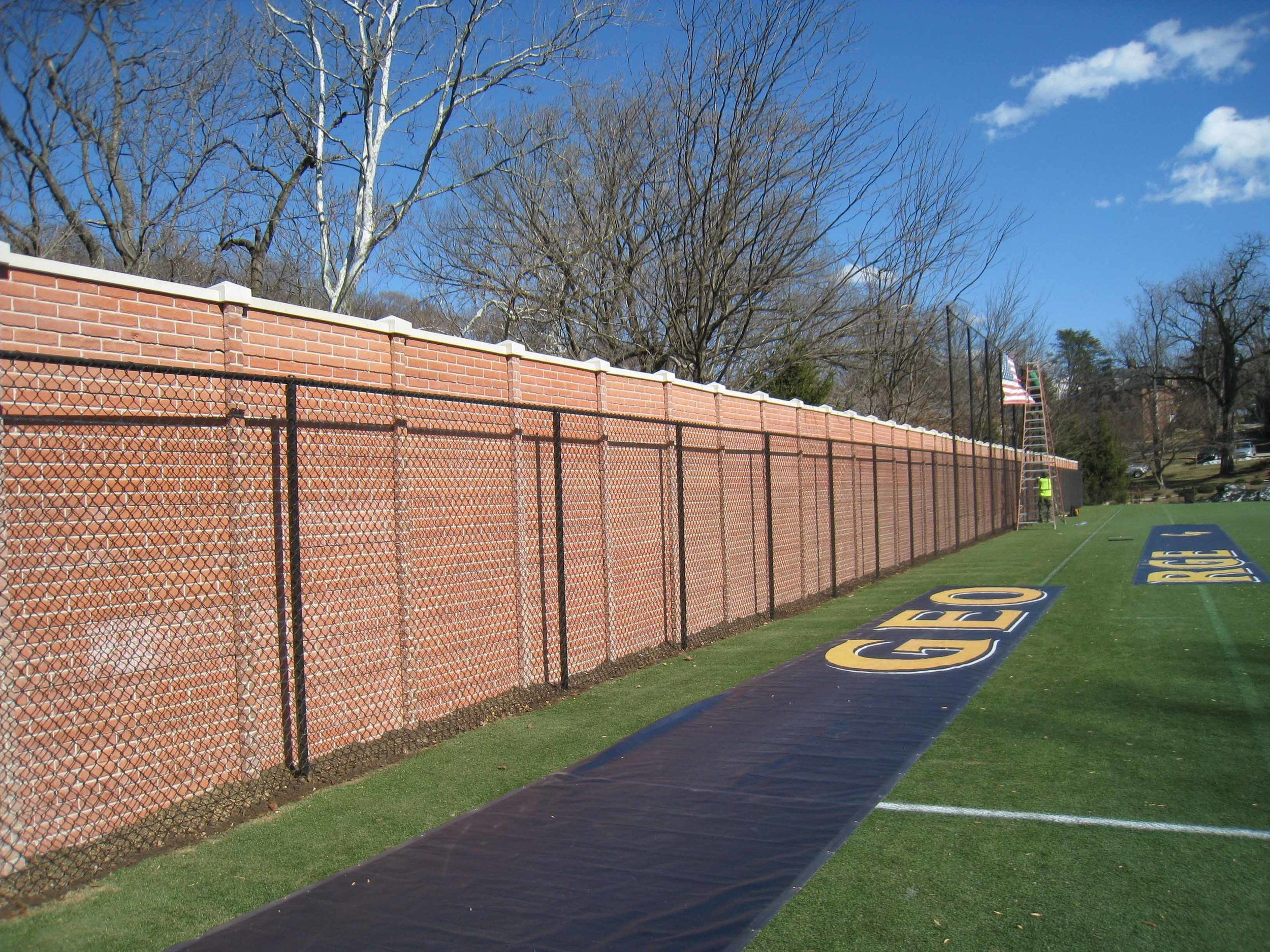 OldBrick Precast Fence 2