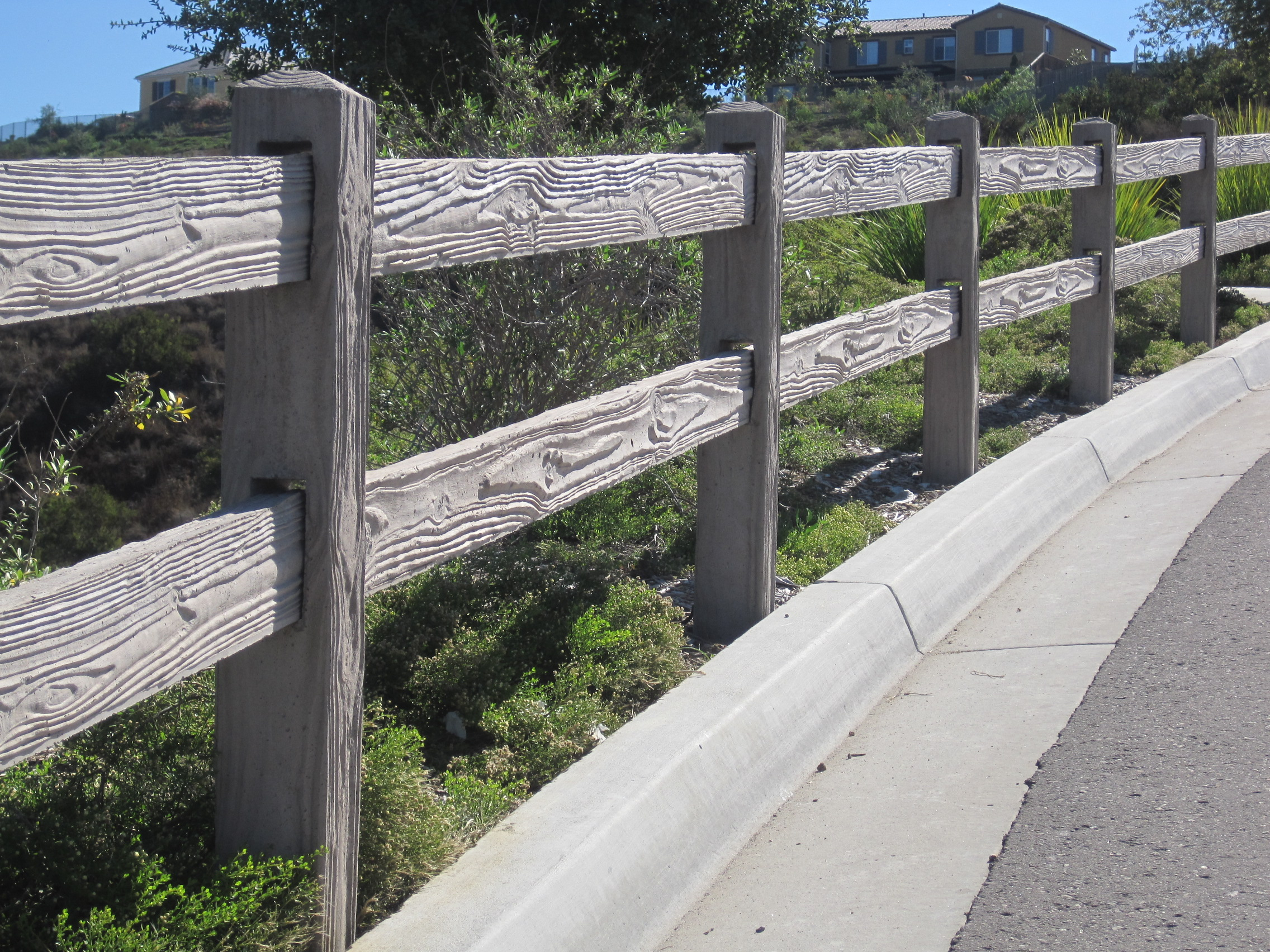 RanchRail Precast Fence 1