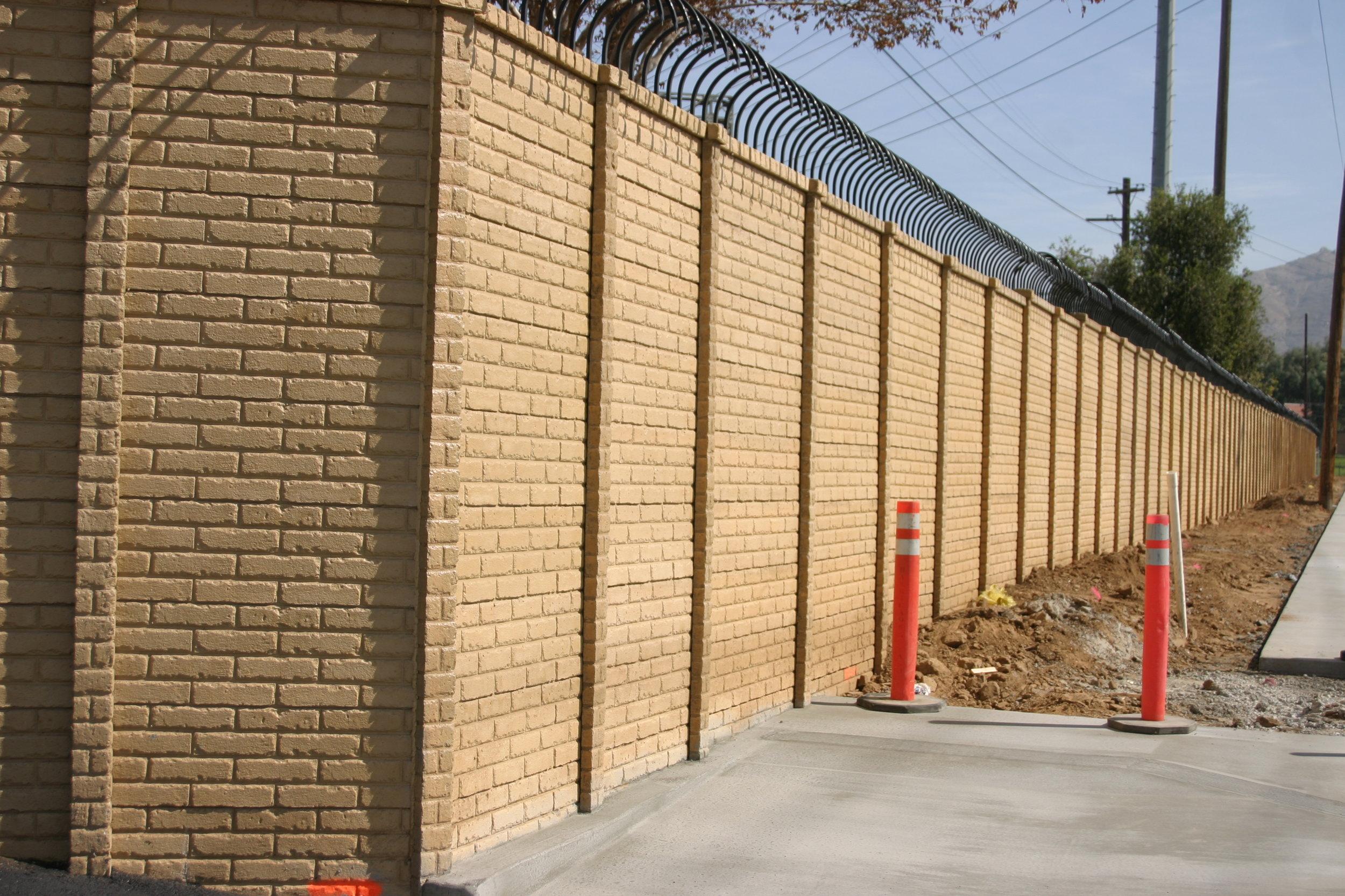 OldBrick Precast Fence TX
