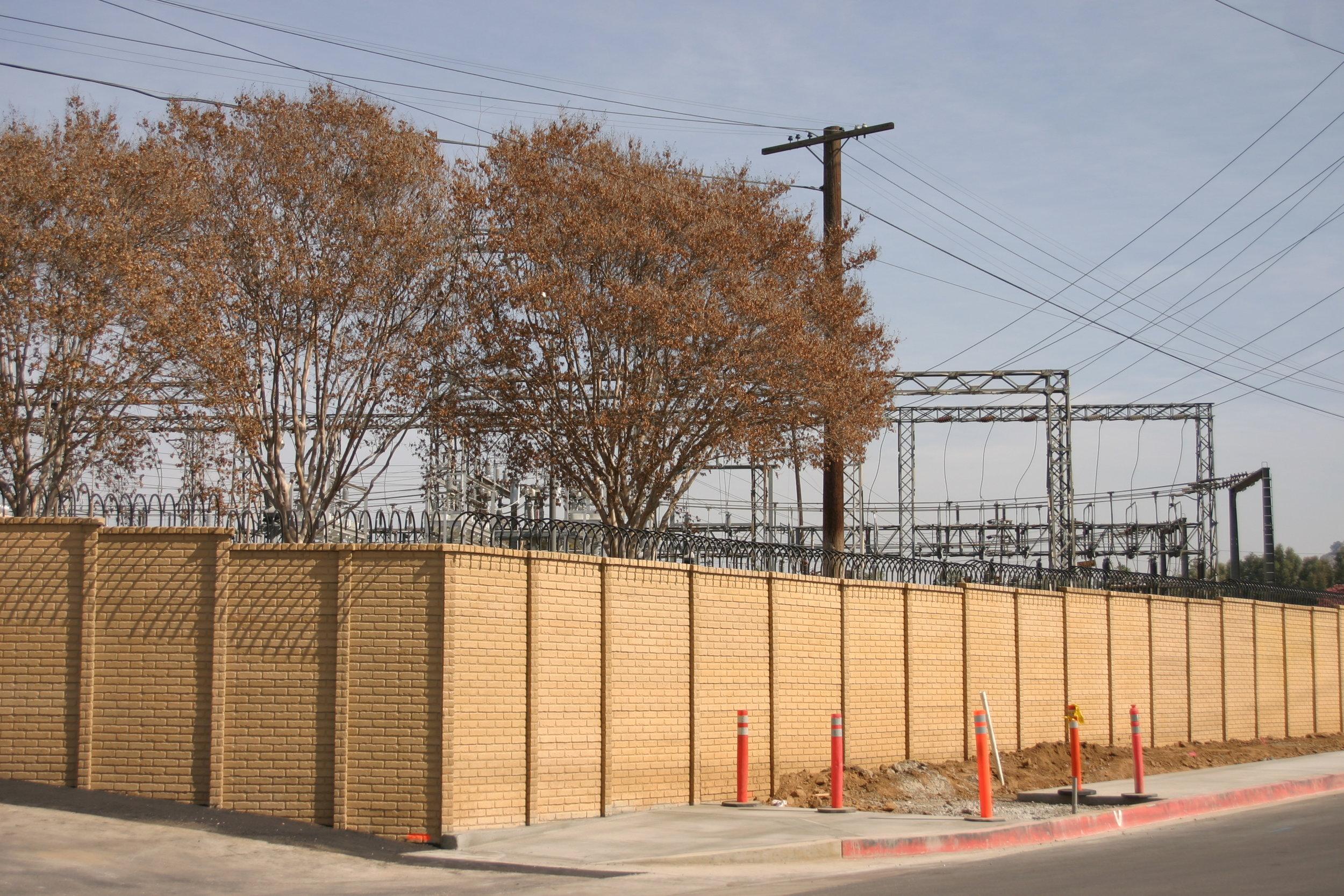 OldBrick Precast Fence Wall.JPG