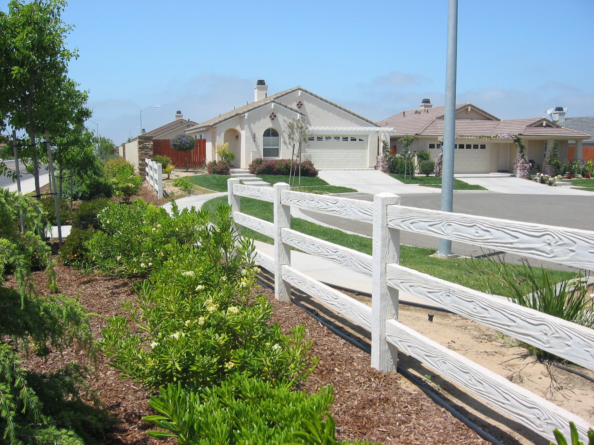 RanchRail Precast Fence 2
