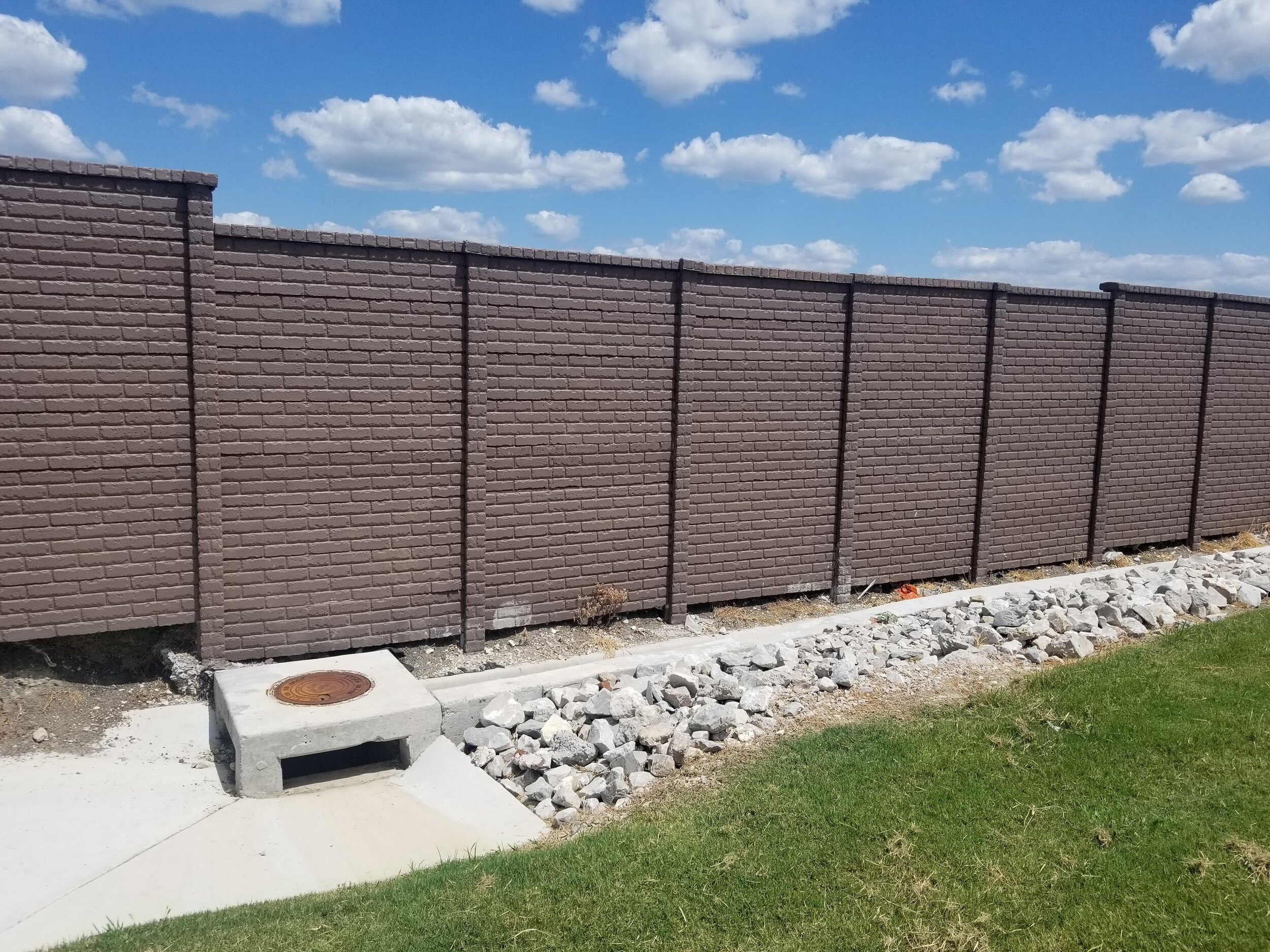 OldBrick Precast Fence Allen, TX.jpg