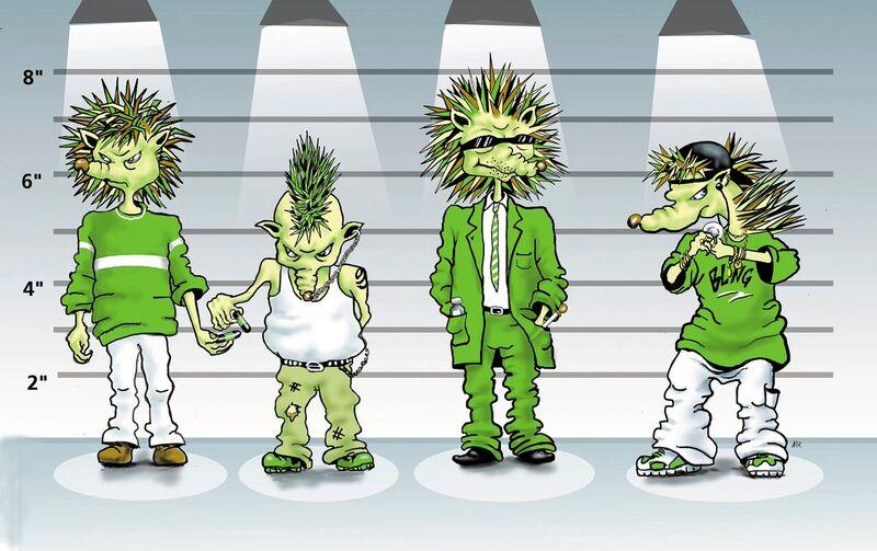 Spike line up