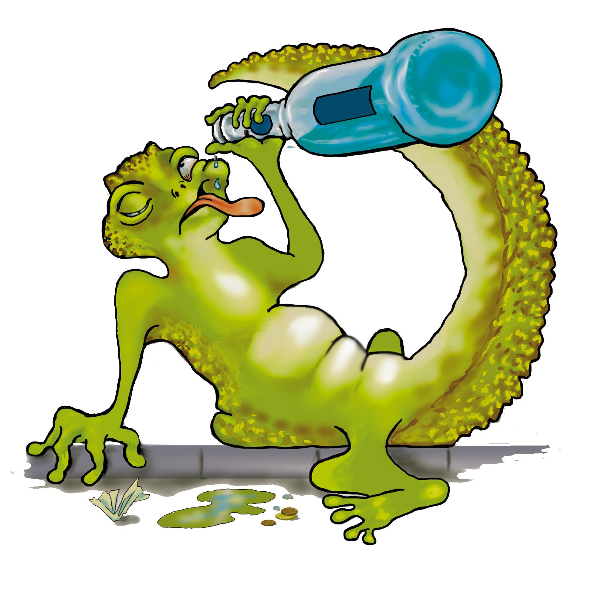 P***ed as a newt
