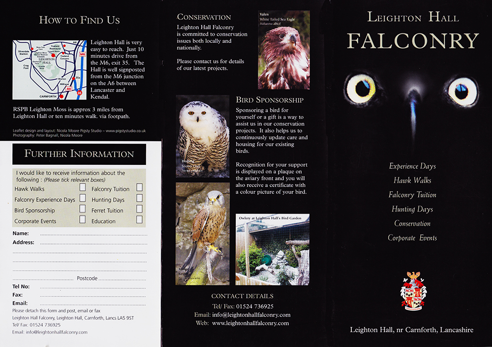 Leighton Hall Falconry 3 fold.jpg