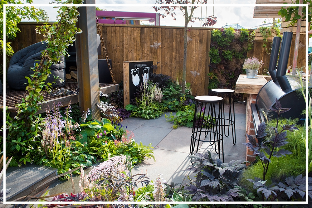 SHOW GARDEN | Gold Award Winning - It's Not Just About The Beard - 2017 -